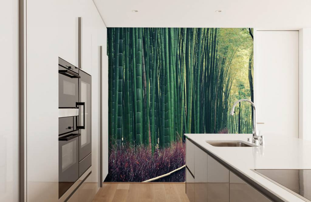 Forest wallpaper - Bamboo forest - Entrance 3