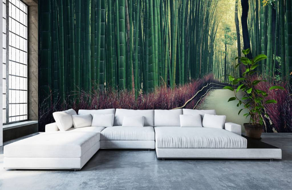 Forest wallpaper - Bamboo forest - Entrance 5