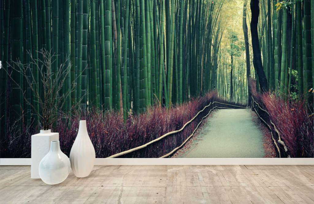 Forest wallpaper - Bamboo forest - Entrance 8