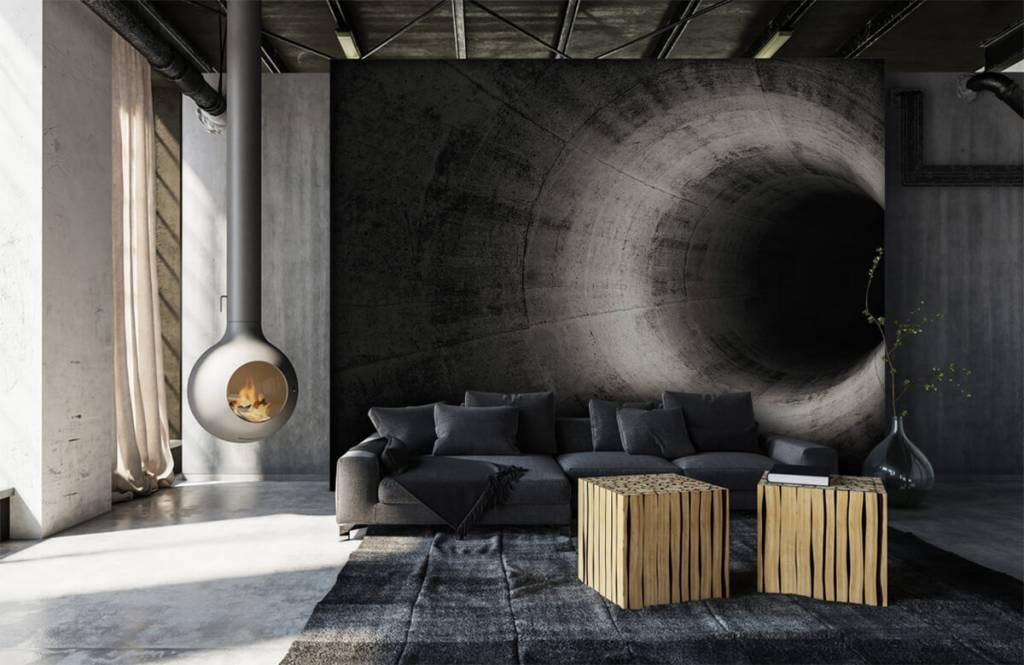 Other - Concrete 3D tunnel - Computer room 1