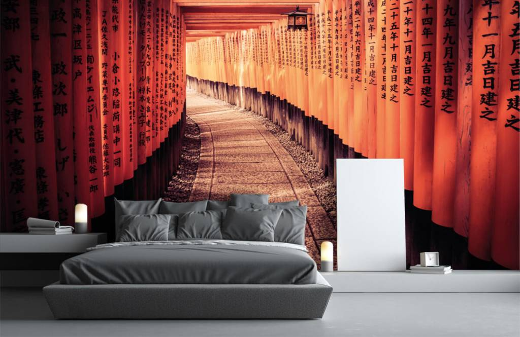Cities wallpaper - Chinese tunnel - Bedroom 4