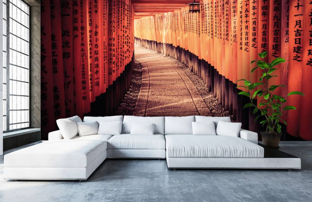 Cities wallpaper - Chinese tunnel - Bedroom 6