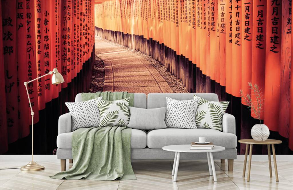 Cities wallpaper - Chinese tunnel - Bedroom 7