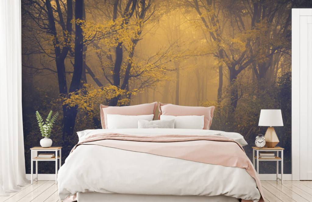 Forest wallpaper - Dark forest - Bedroom 2