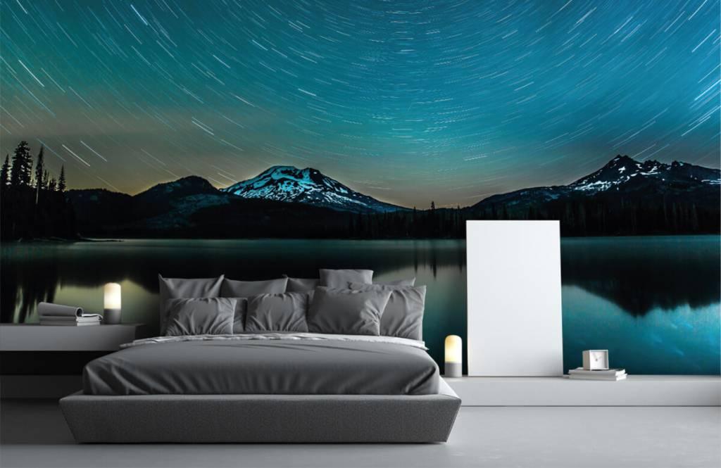 Northern Lights - Dark starry sky - Bedroom 1