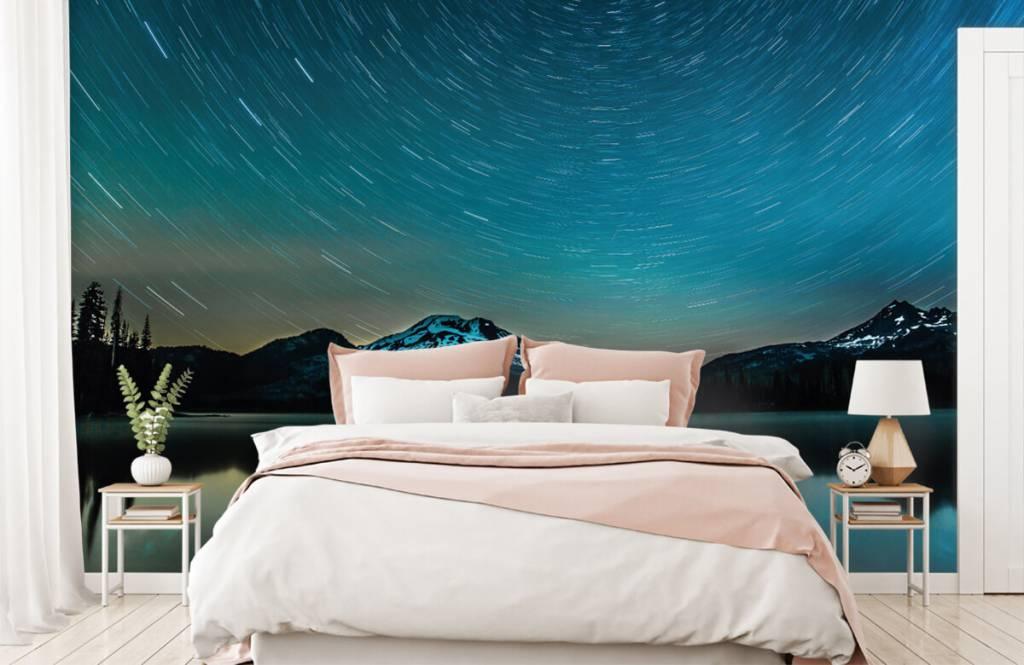 Northern Lights - Dark starry sky - Bedroom 2