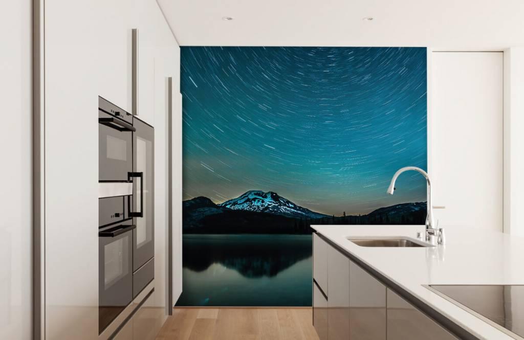 Northern Lights - Dark starry sky - Bedroom 3
