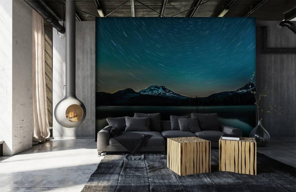 Northern Lights - Dark starry sky - Bedroom 6