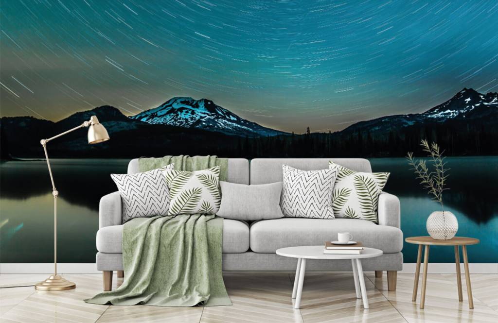 Northern Lights - Dark starry sky - Bedroom 7