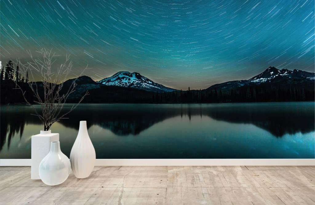 Northern Lights - Dark starry sky - Bedroom 8