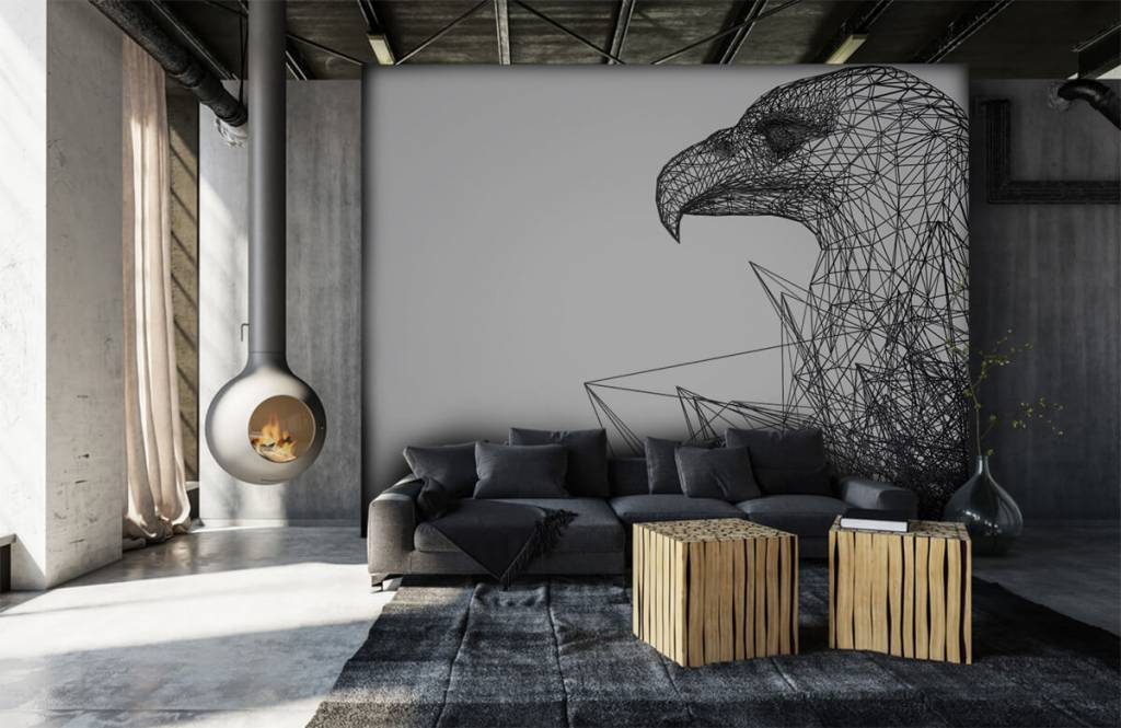 Animals - Abstract Hawk - Computer room 1