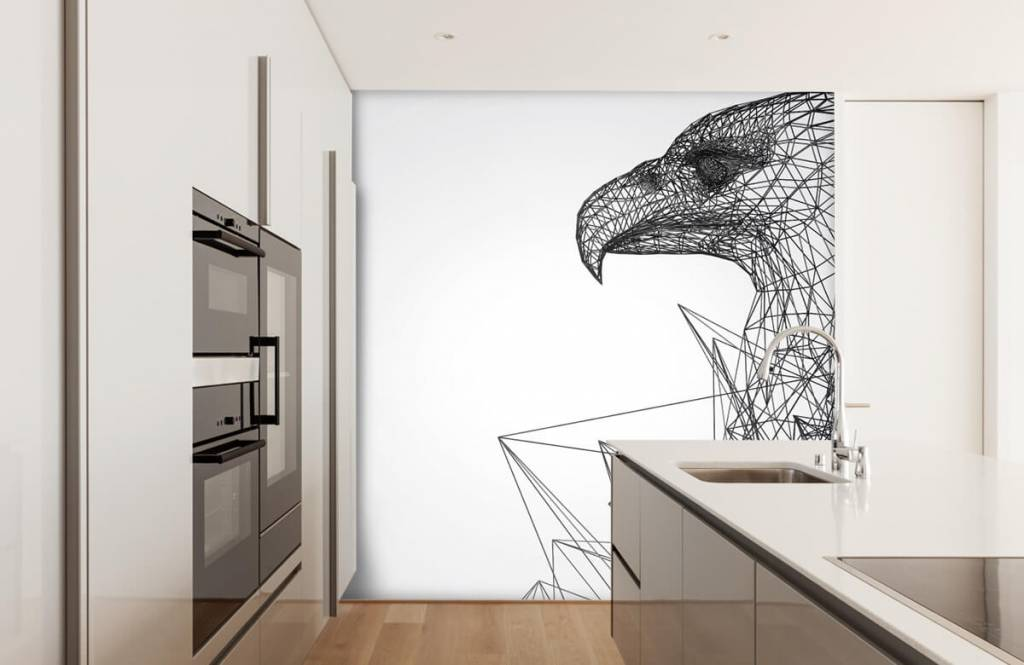 Animals - Abstract Hawk - Computer room 4