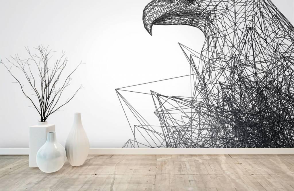 Animals - Abstract Hawk - Computer room 8