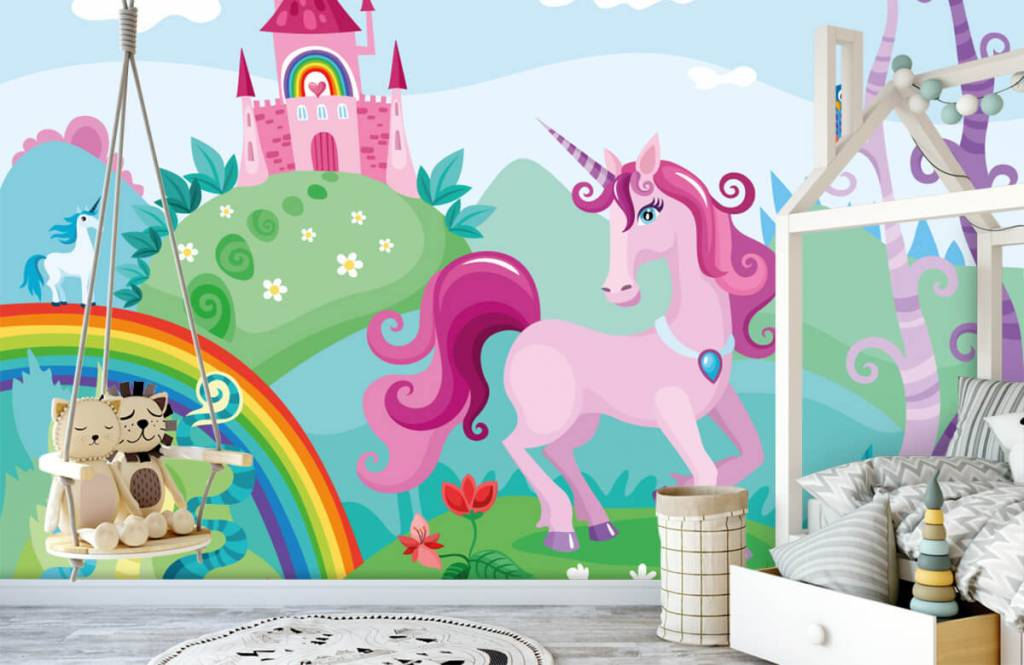 Other - Unicorn at a castle - Children's room 1