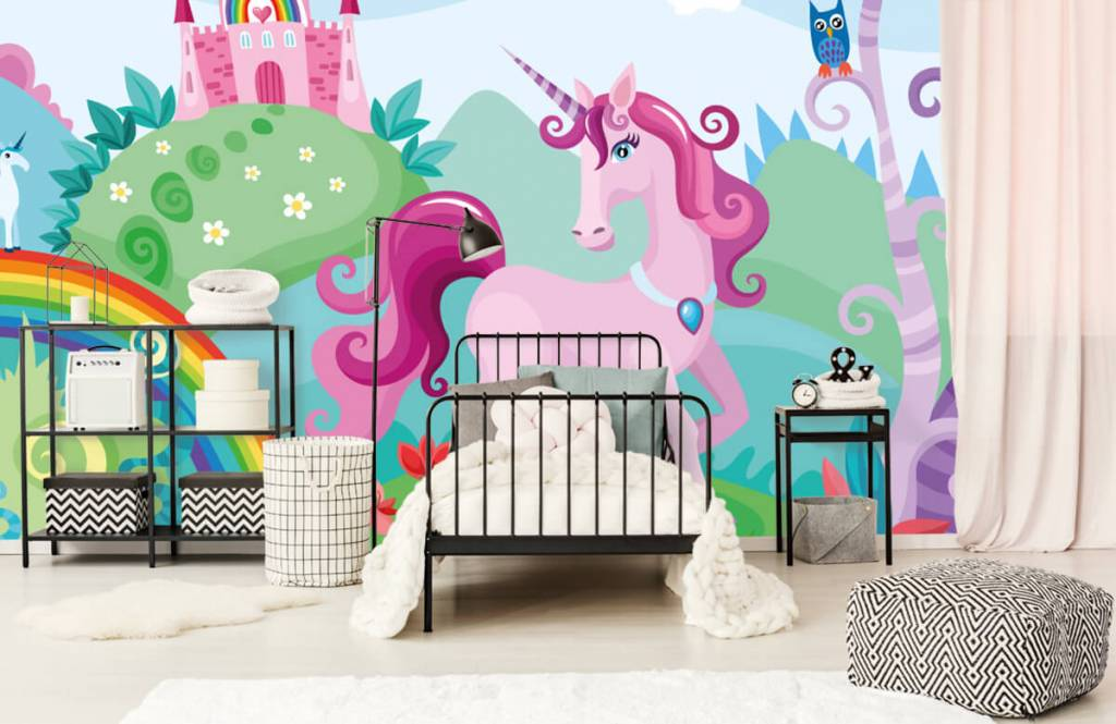Other - Unicorn at a castle - Children's room 2