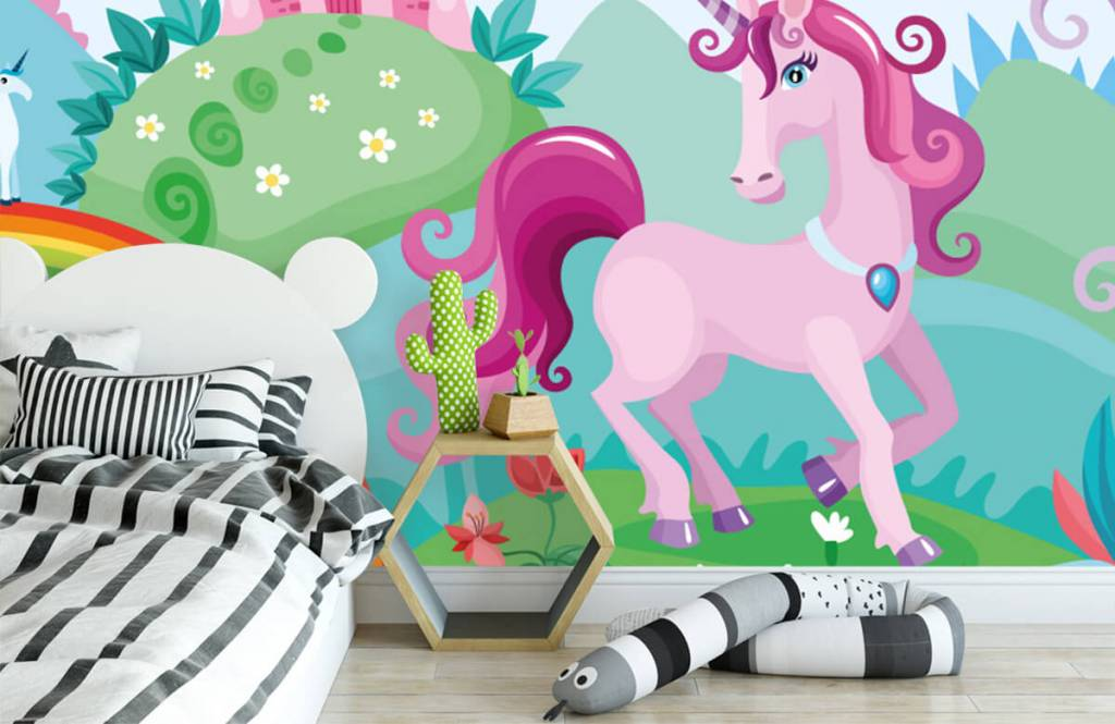 Other - Unicorn at a castle - Children's room 3