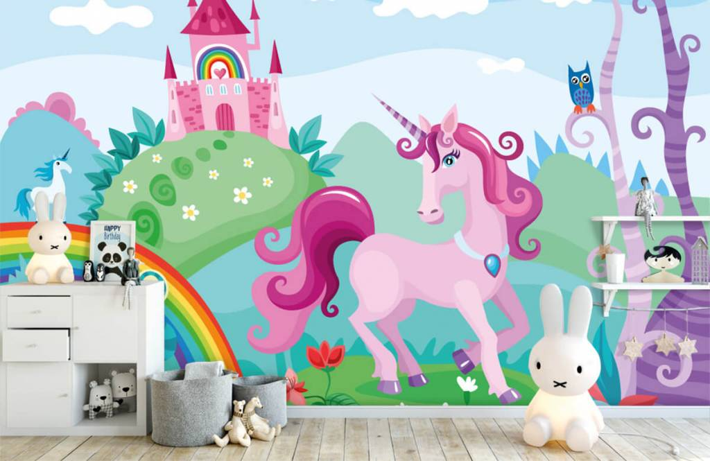 Other - Unicorn at a castle - Children's room 4