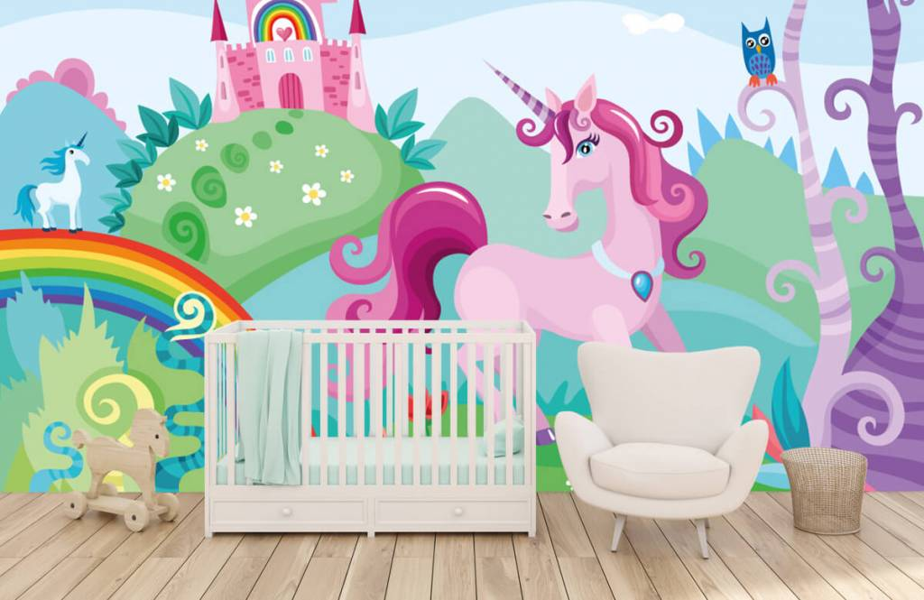 Other - Unicorn at a castle - Children's room 5