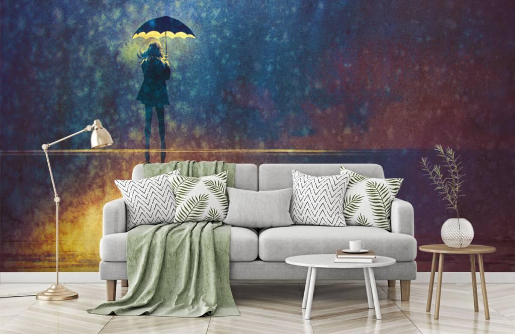 Modern - Lonely girl in the rain - Hobby room 7