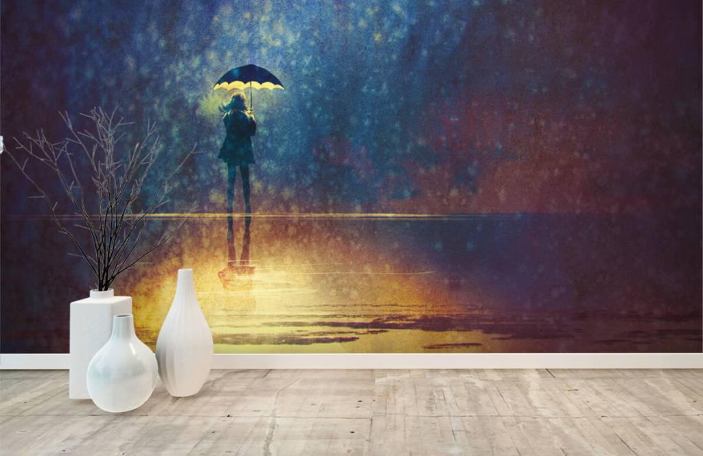 Modern - Lonely girl in the rain - Hobby room 8