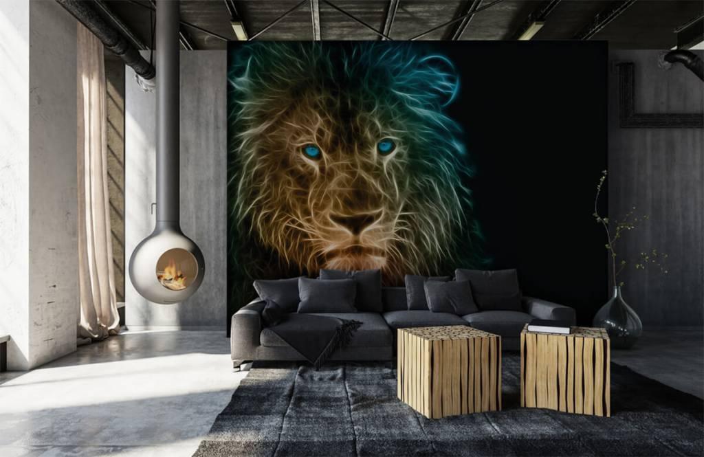 Animals - Fantasy lion - Teenage room 1