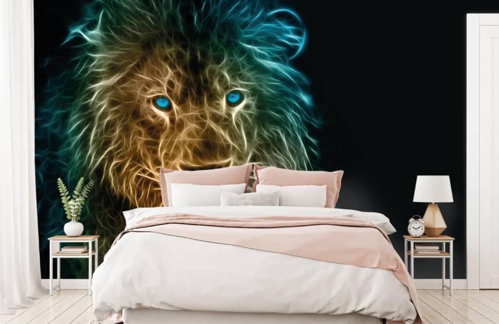 Animals - Fantasy lion - Teenage room 2