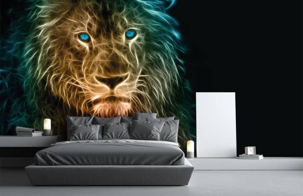 Animals - Fantasy lion - Teenage room 3