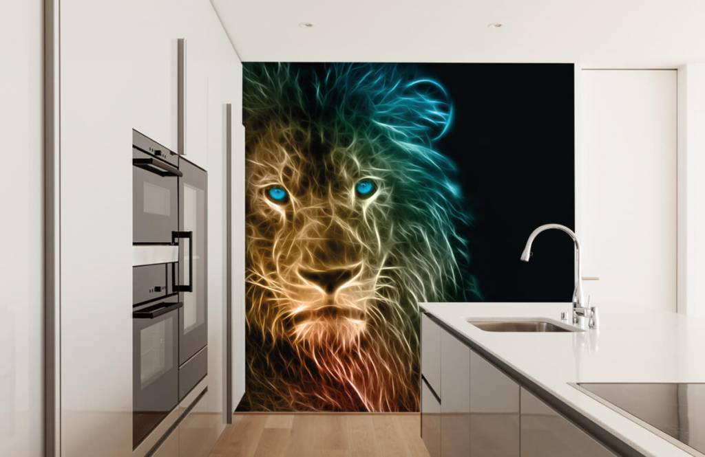 Animals - Fantasy lion - Teenage room 4