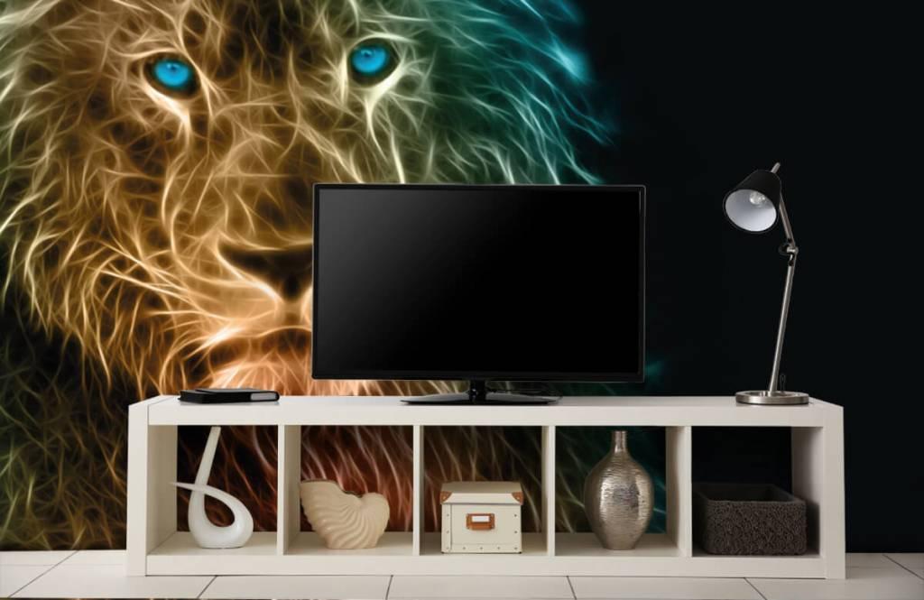 Animals - Fantasy lion - Teenage room 5