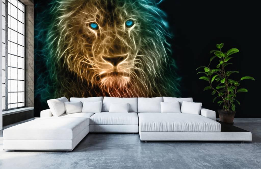 Animals - Fantasy lion - Teenage room 6
