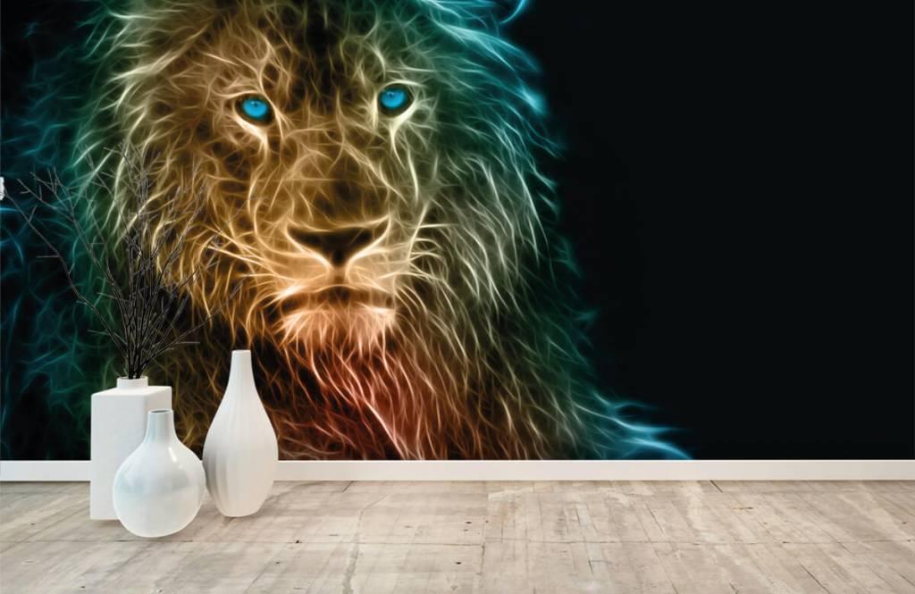 Animals - Fantasy lion - Teenage room 8