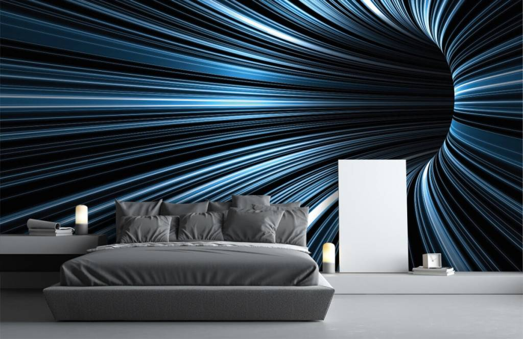 Other - Futuristic 3D tunnel - Hobby room 2
