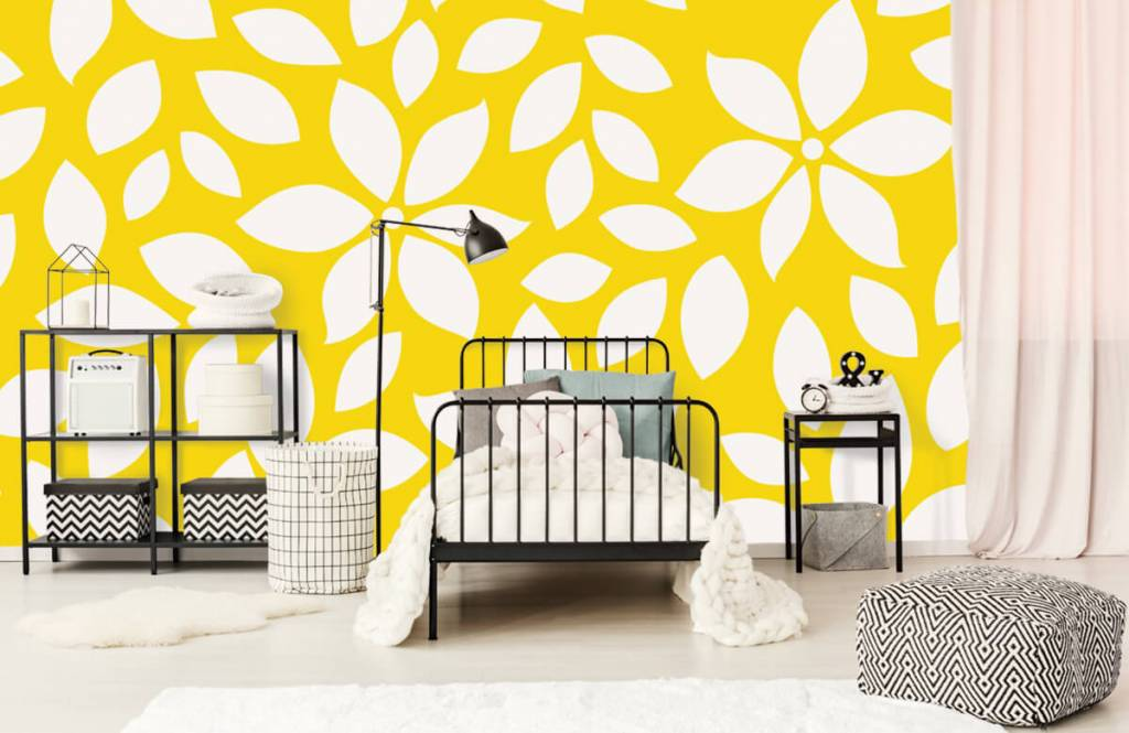 Other - Yellow flower pattern - Baby room 2