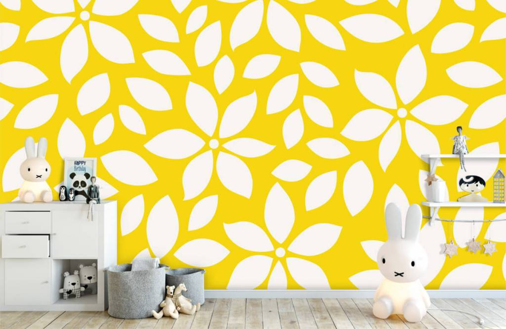 Other - Yellow flower pattern - Baby room 4