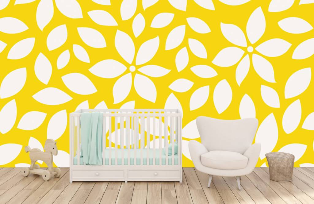 Other - Yellow flower pattern - Baby room 5