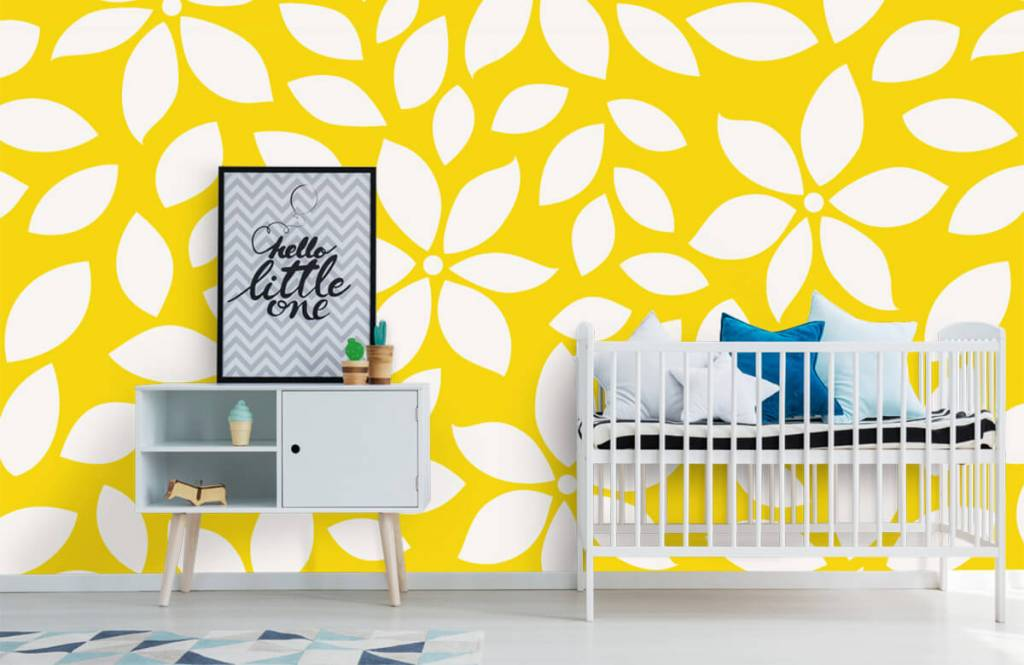 Other - Yellow flower pattern - Baby room 6