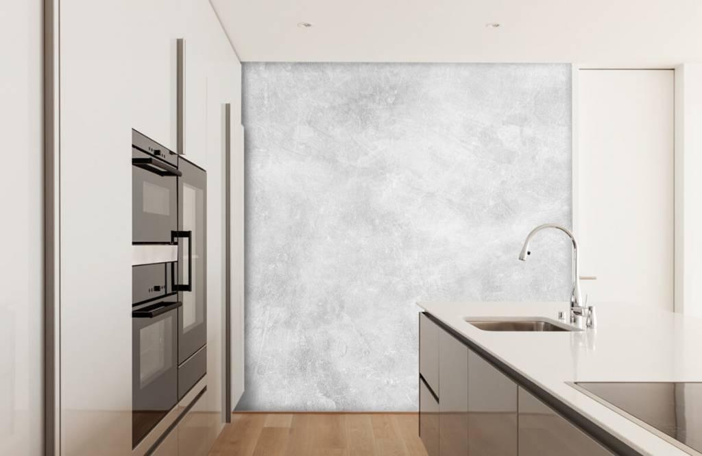 Concrete look wallpaper - Glossy concrete structure - Office 3