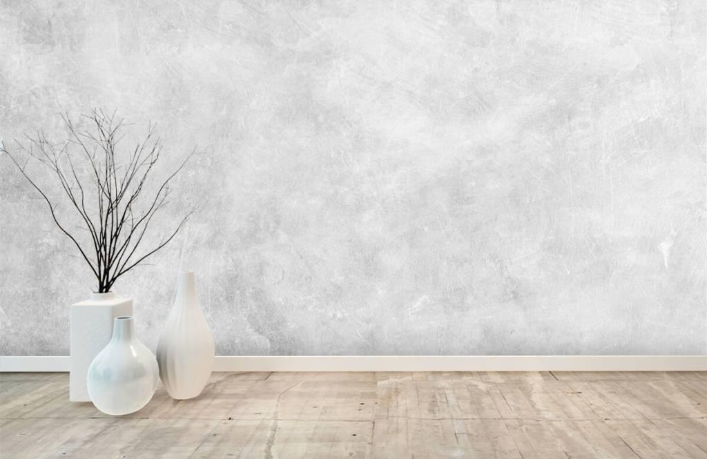 Concrete look wallpaper - Glossy concrete structure - Office 8