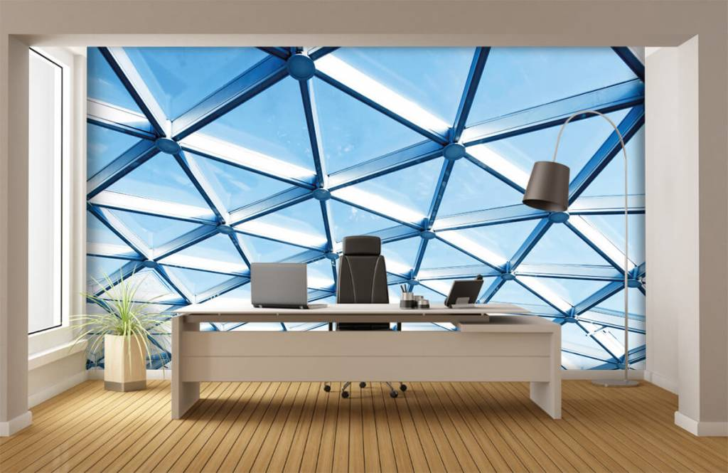 Buildings - Glass ceiling - Entrance 1