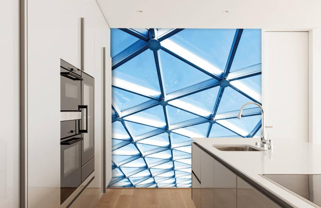 Buildings - Glass ceiling - Entrance 4
