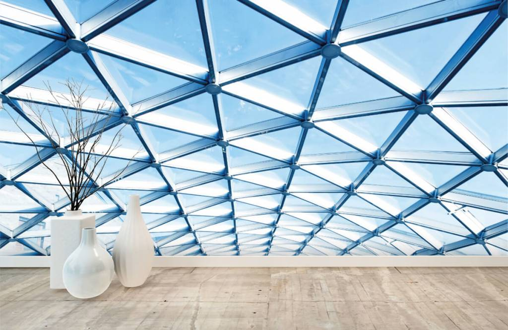 Buildings - Glass ceiling - Entrance 7