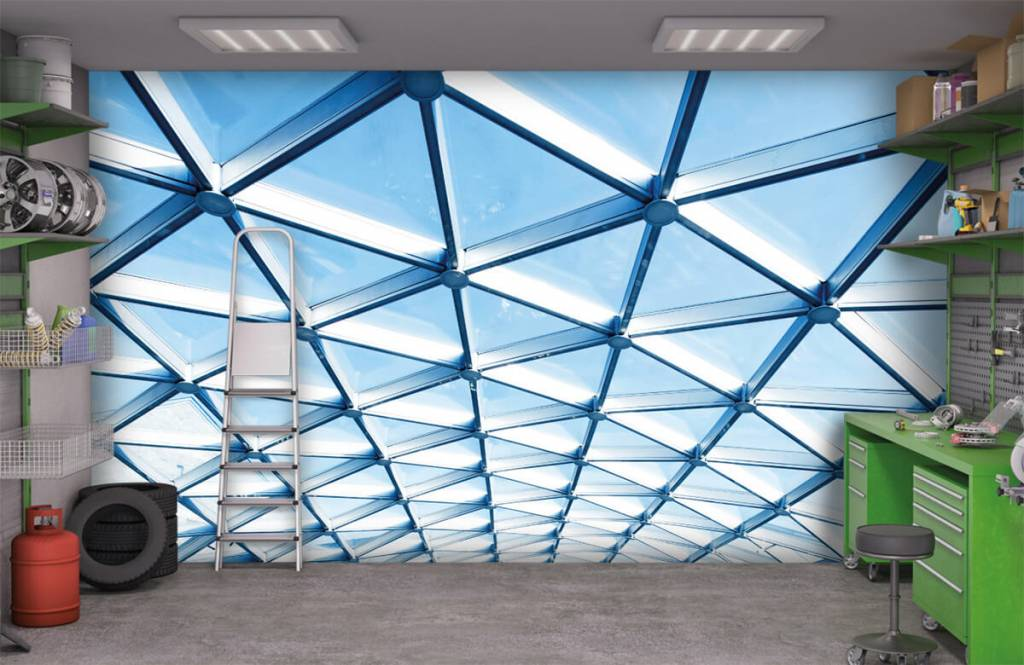 Buildings - Glass ceiling - Entrance 9