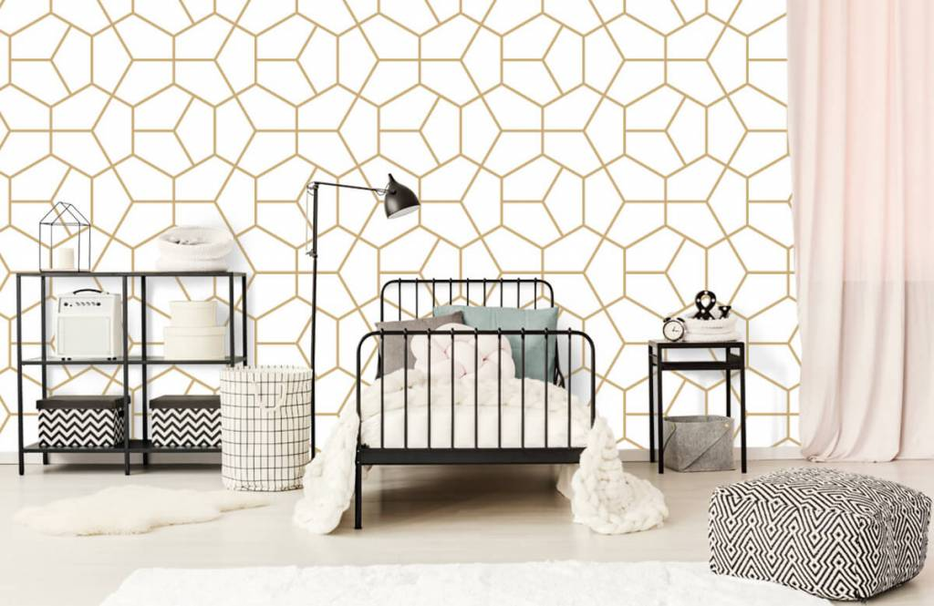Other - Gold geometric pattern - Bedroom 2