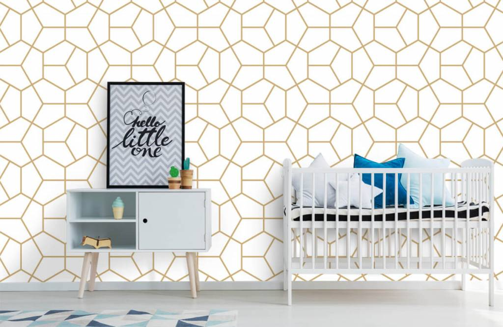 Other - Gold geometric pattern - Bedroom 4