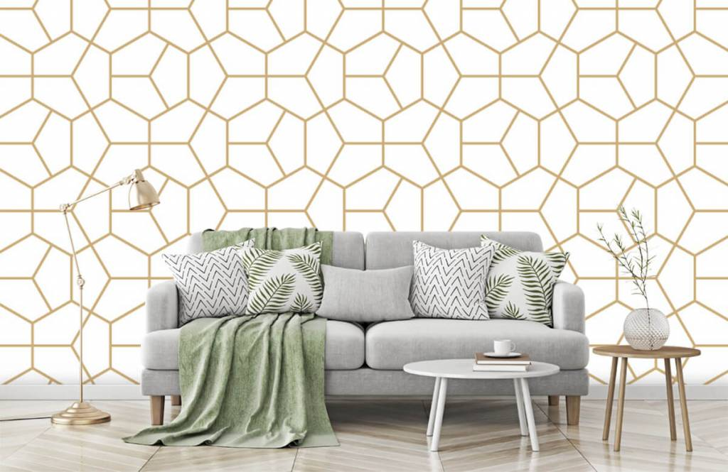 Other - Gold geometric pattern - Bedroom 5