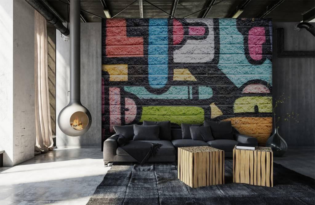 Graffiti - Graffiti wall - Teenage room 1