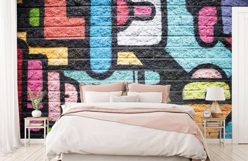 Graffiti - Graffiti wall - Teenage room 2