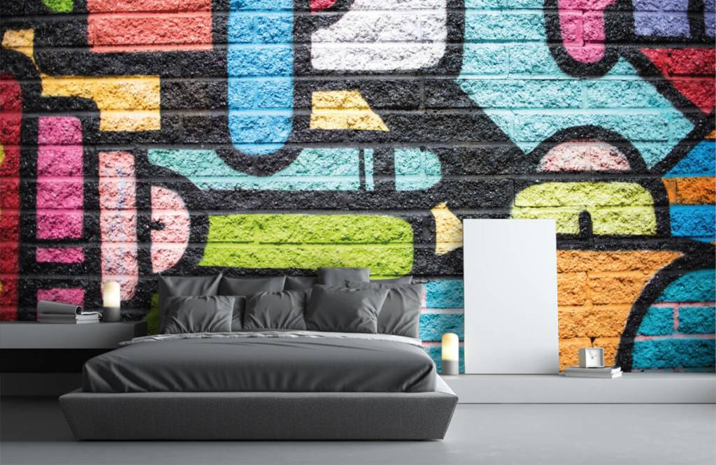 Graffiti - Graffiti wall - Teenage room 3