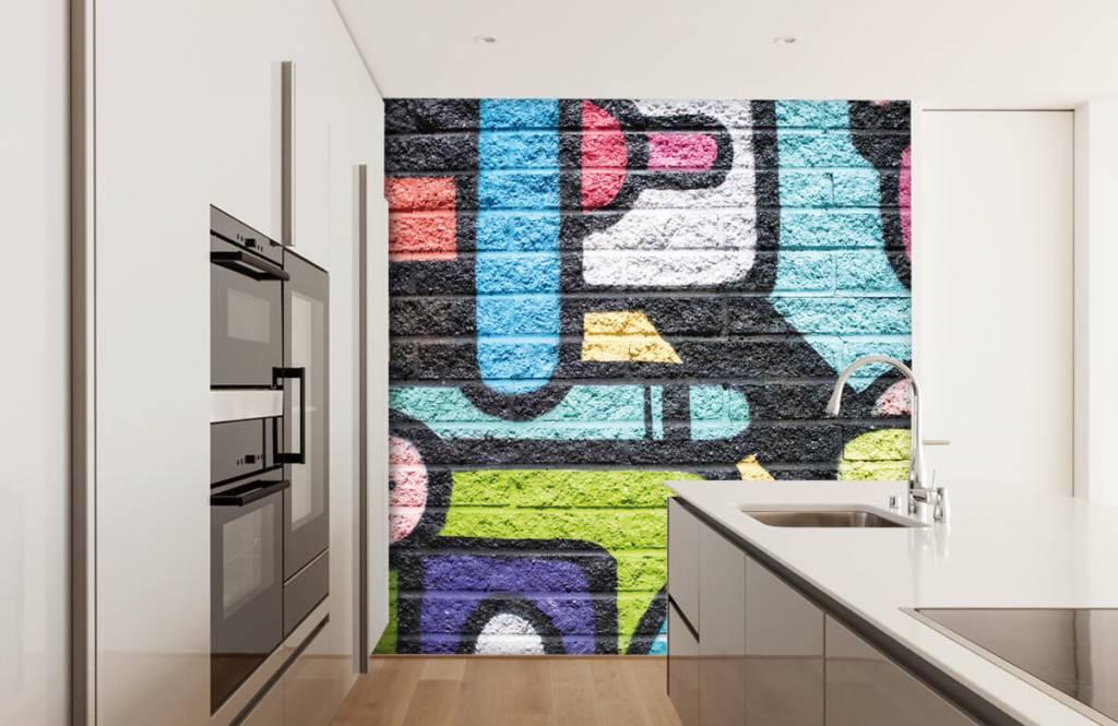 Graffiti - Graffiti wall - Teenage room 4