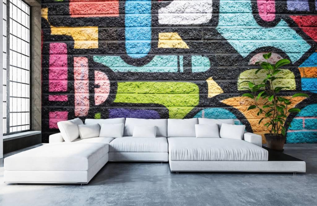 Graffiti - Graffiti wall - Teenage room 6